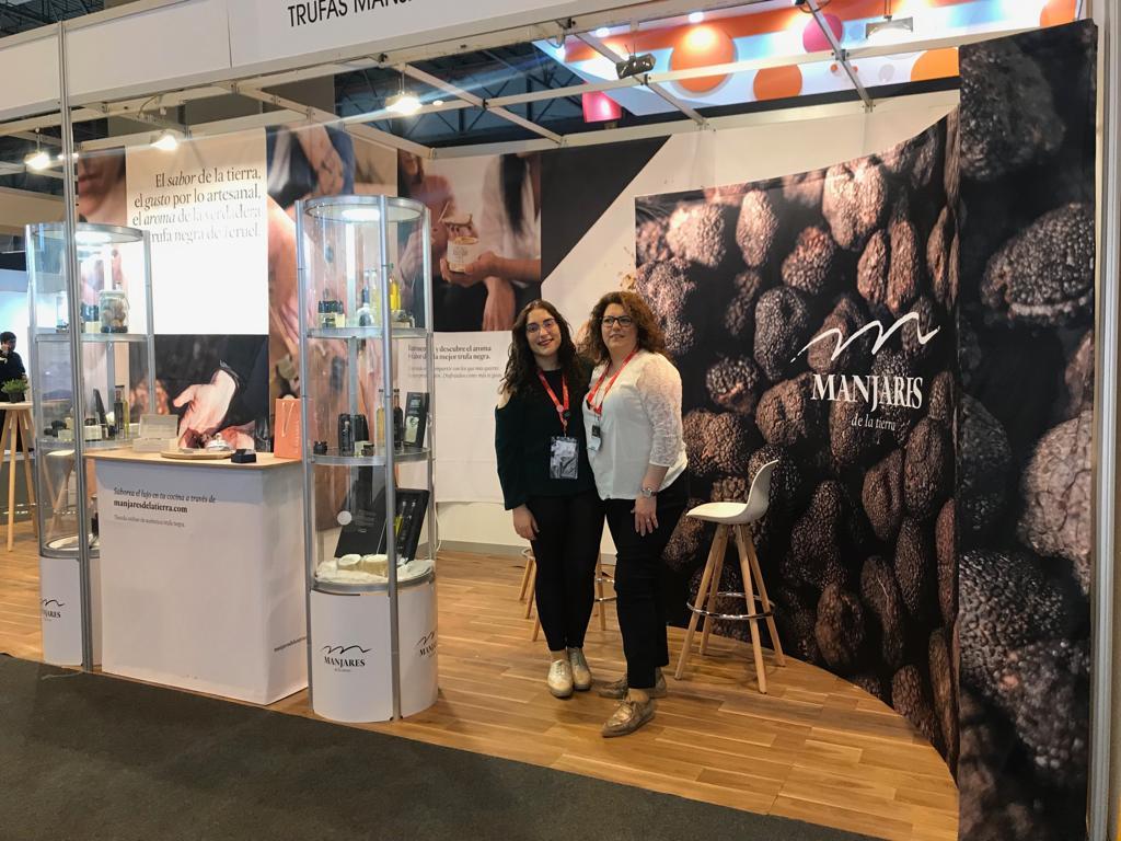 Entrevistas al Equipo Manjares de la Tierra en el Stand del Salón Gourmet 2019