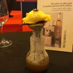 Receta: Flor de alcachofa, huevo ecológico y trufa.