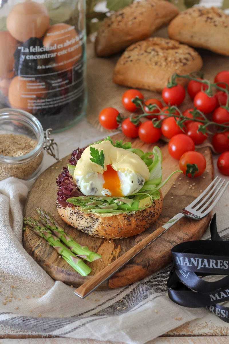 Receta: Huevos Benedict trufados